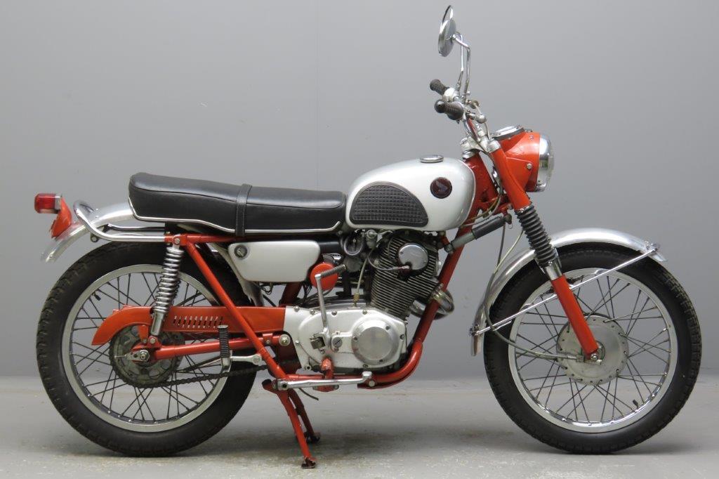 Honda 1966 CL72  247cc 2 cyl ohc  2912