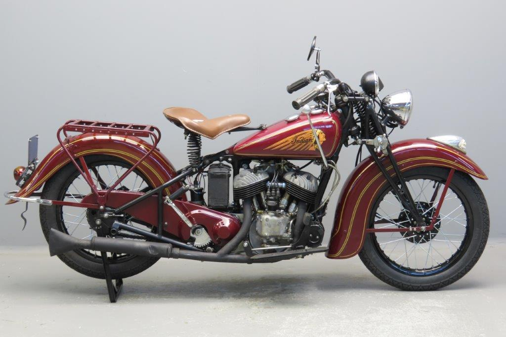 Indian 1937 Sportscout 746cc 2 cyl sv  2912