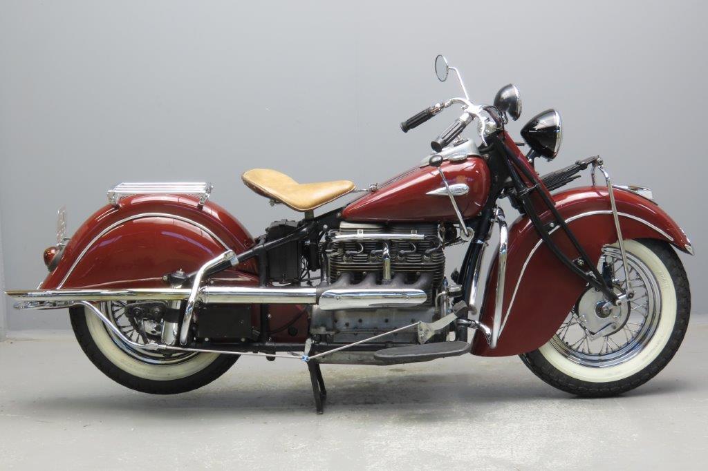 Indian 1940 Model 440 1265cc 4 cyl ioe  2912