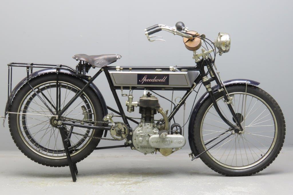 Speedwell 1909  3½hp 499cc 1 cyl sv  2912