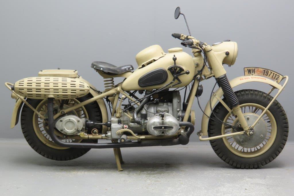 BMW 1943 R75 748cc 2 cyl ohv  3001