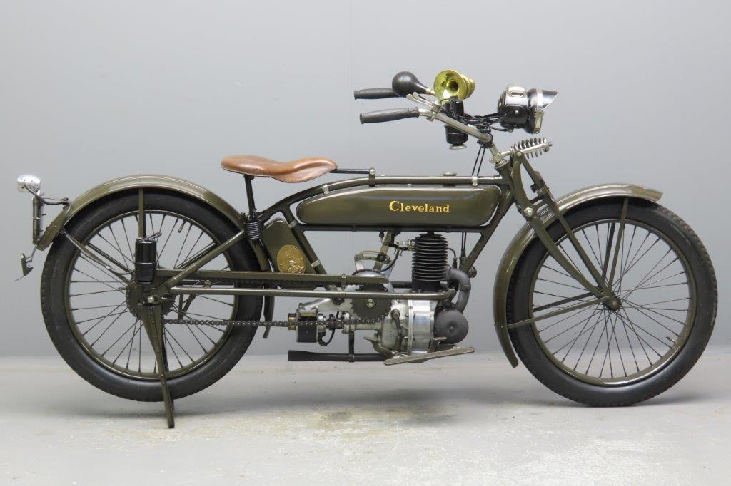 Cleveland 1920 3hp model 20 220cc 1 cyl ts  3001