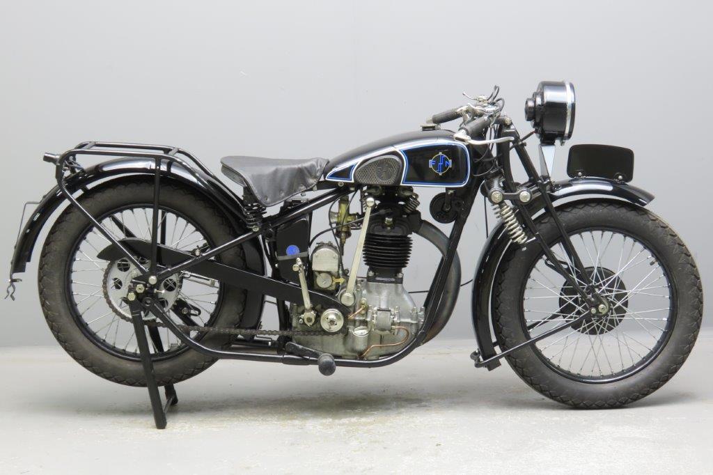 FN 1931 M67 D Standard 495cc 1 cyl ohv  3001