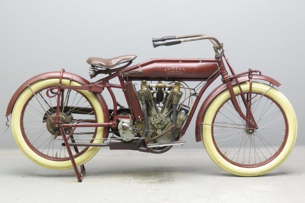 Indian 1915 Model C3 994cc 2 cyl ioe  3001