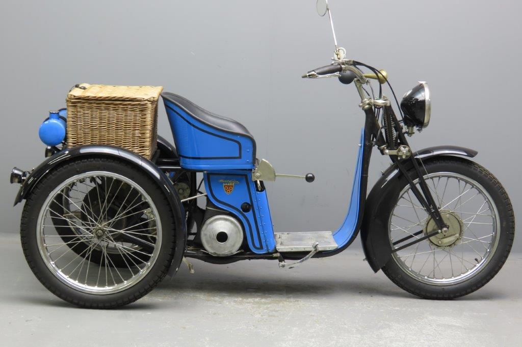 Monet & Goyon 1930 Model GZA 250cc 1 cyl ts  3001