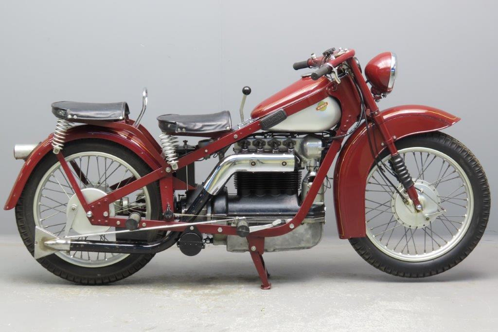 """Nimbus 1938 """"Luxus"""" 746cc 4 cyl ohc  3001"""