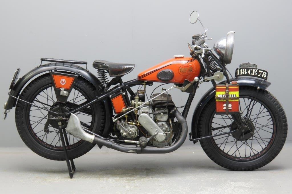 Soyer 1930 type 07C 350cc 1 cyl sv  3001