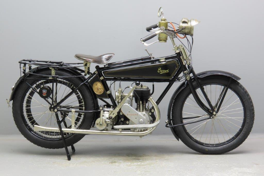 Terrot 1924 4CV 346cc 1 cyl sv  3002