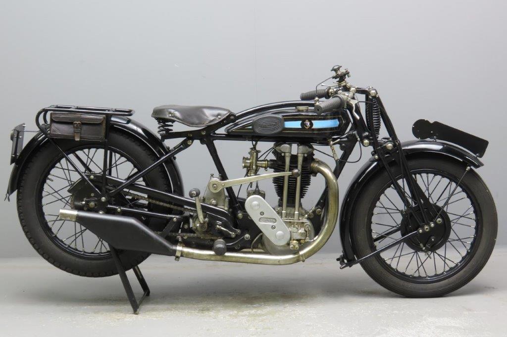 Triumph 1927 TT 498cc 1 cyl ohv  3002