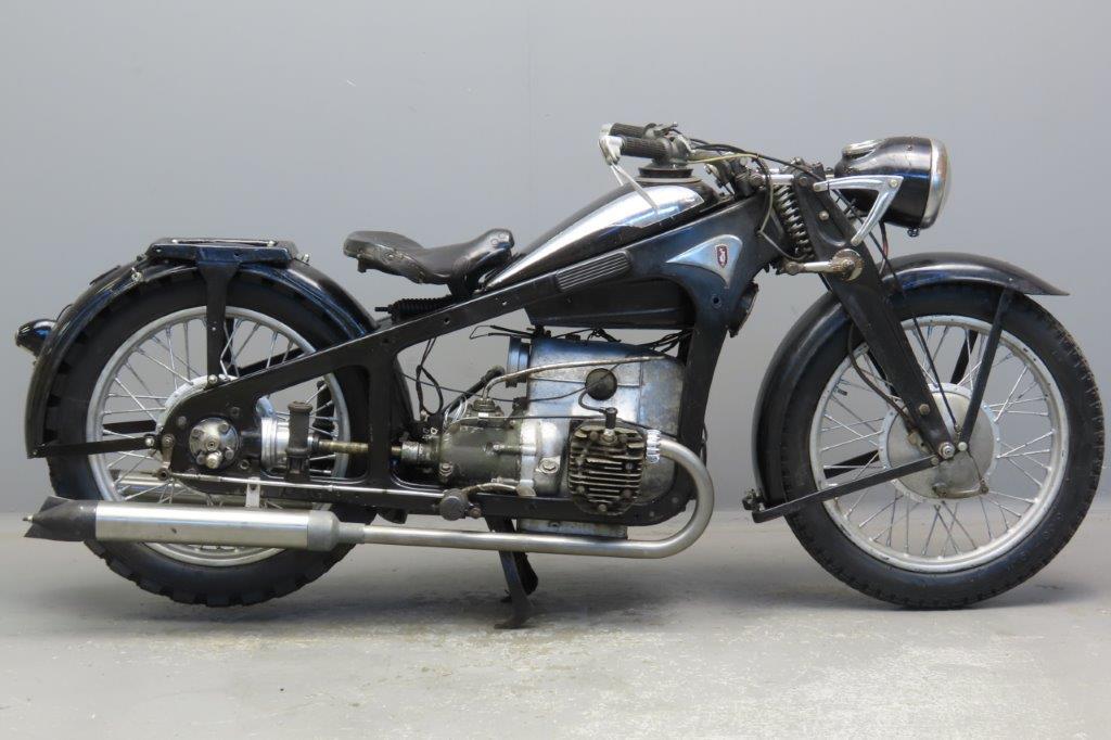 Zündapp 1939 K500 498cc 2 cyl sv  3002