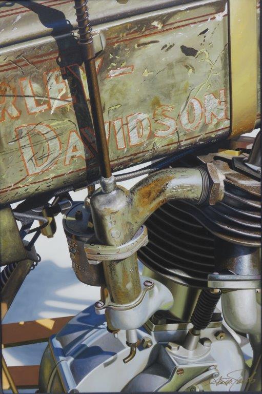 Harley Davidson Giclee Print