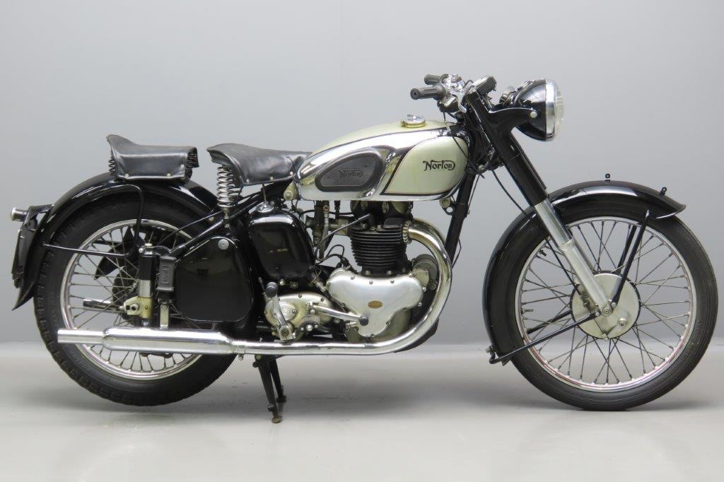 Norton 1950 Model 7  497cc 2 cyl ohv  3003