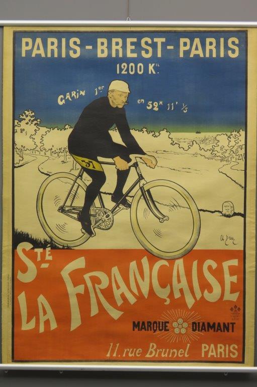 Paris Brest Paris Maurice Garin  1901  3002