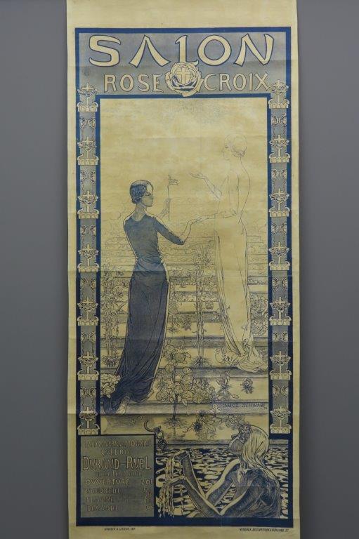 Salon Rose Croix ca 1892  3003
