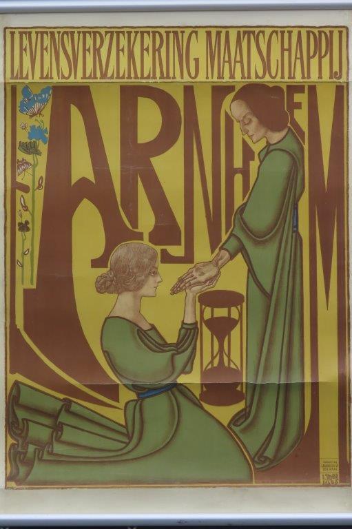 Levensverzekering Arnhem Jan Toorop ca 1900   3003