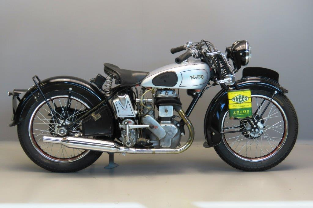 Norton 1946 Model 1 Big four 633cc 1 cyl sv  3004