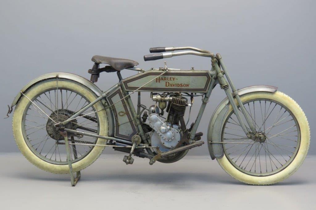 Harley Davidson 1914 Model 10c 1 cyl 565cc ioe  3005