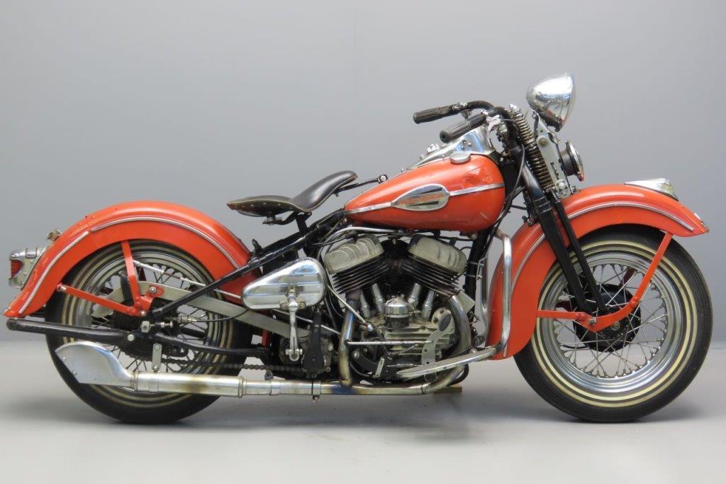 Harley Davidson 1943 WLA 750cc 2 cyl sv 3005