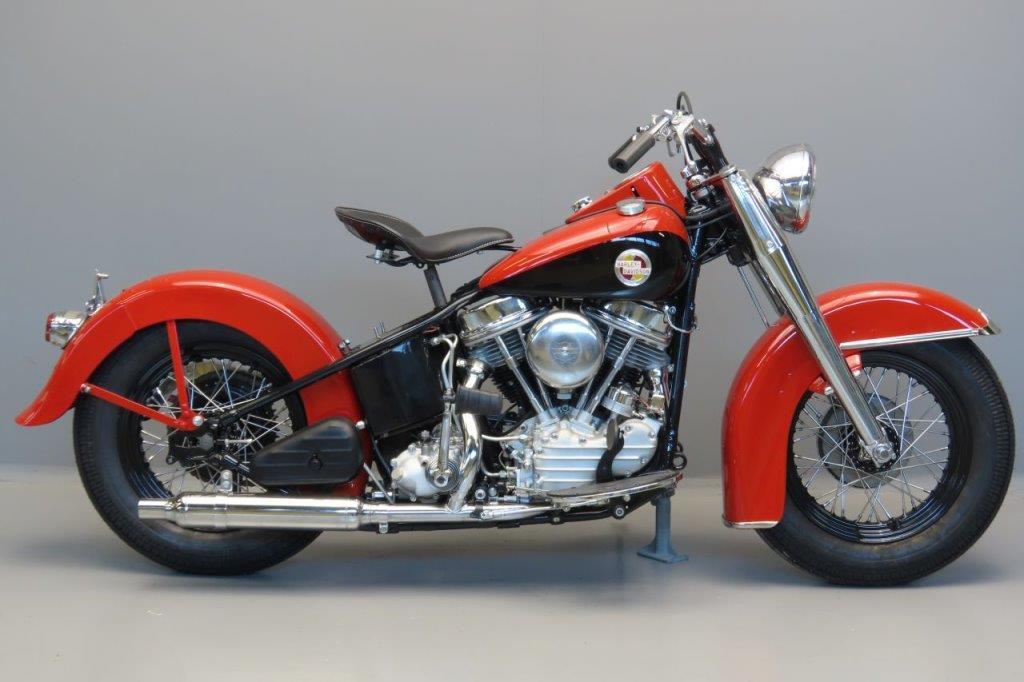 Harley Davidson 1957 Hydra Glide 1207cc 2 cyl ohv  3005