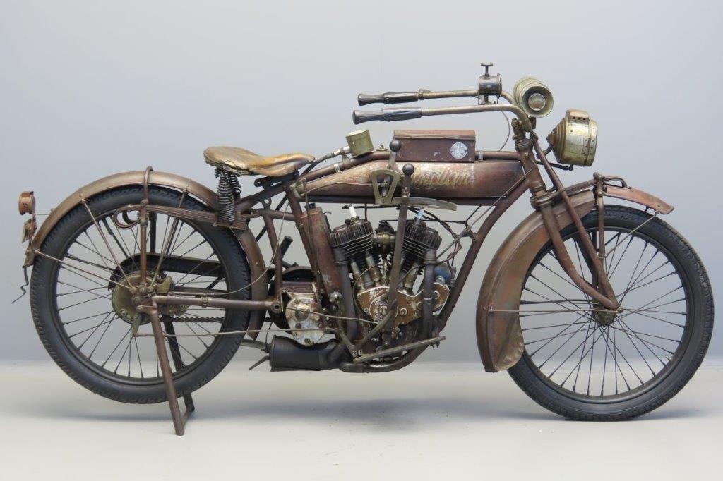 Indian 1916 Powerplus 998cc 2 cyl sv  3005