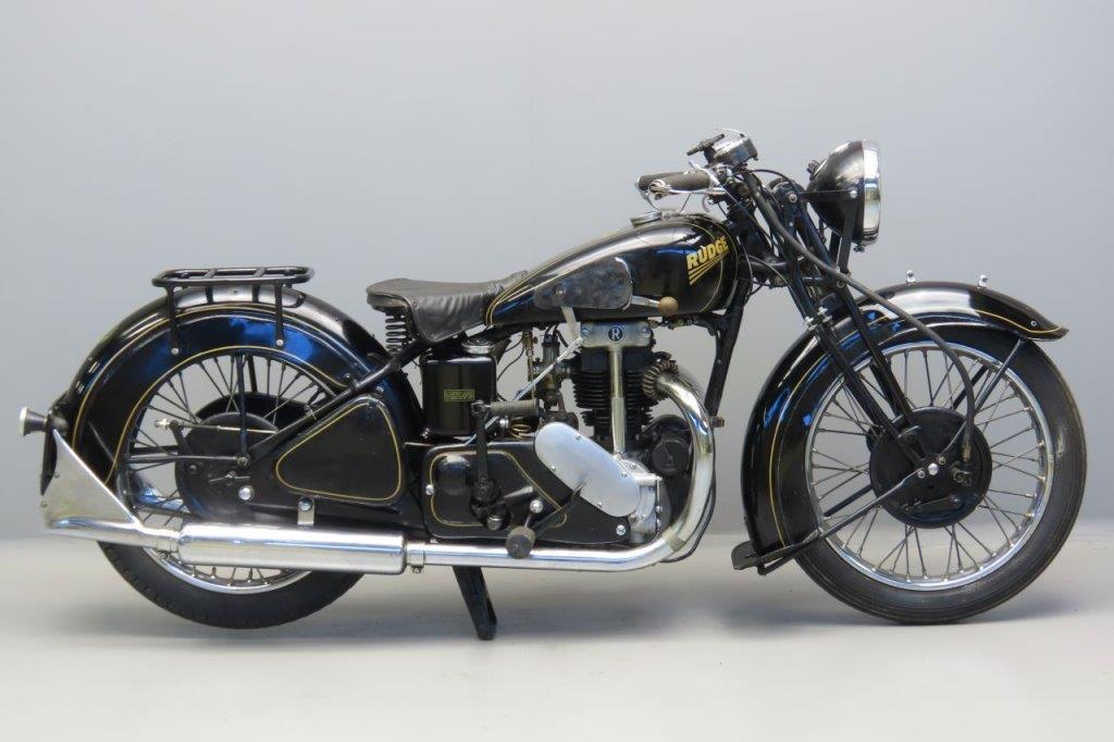 Rudge 1936 495cc 1 cyl  four valve  3005