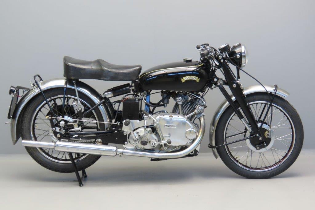 Vincent 1951 Comet 499cc 1 cyl ohv  3005