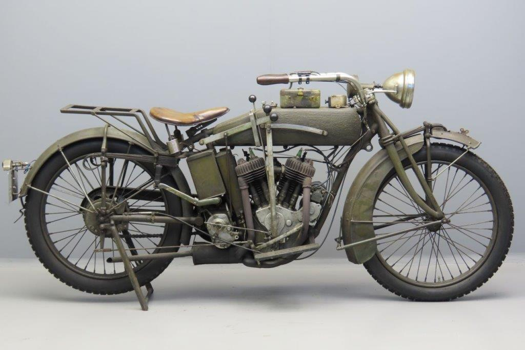 Indian 1917 Powerplus 1000cc 2 cyl sv  3006