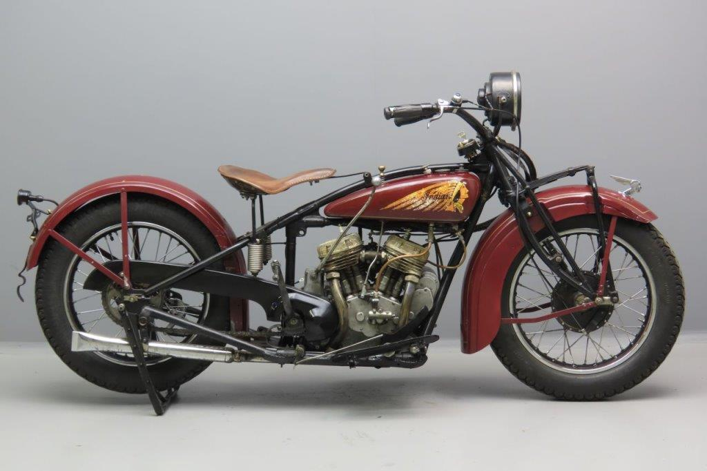 Indian 1928 101 Scout 750cc 2 cyl sv 3006