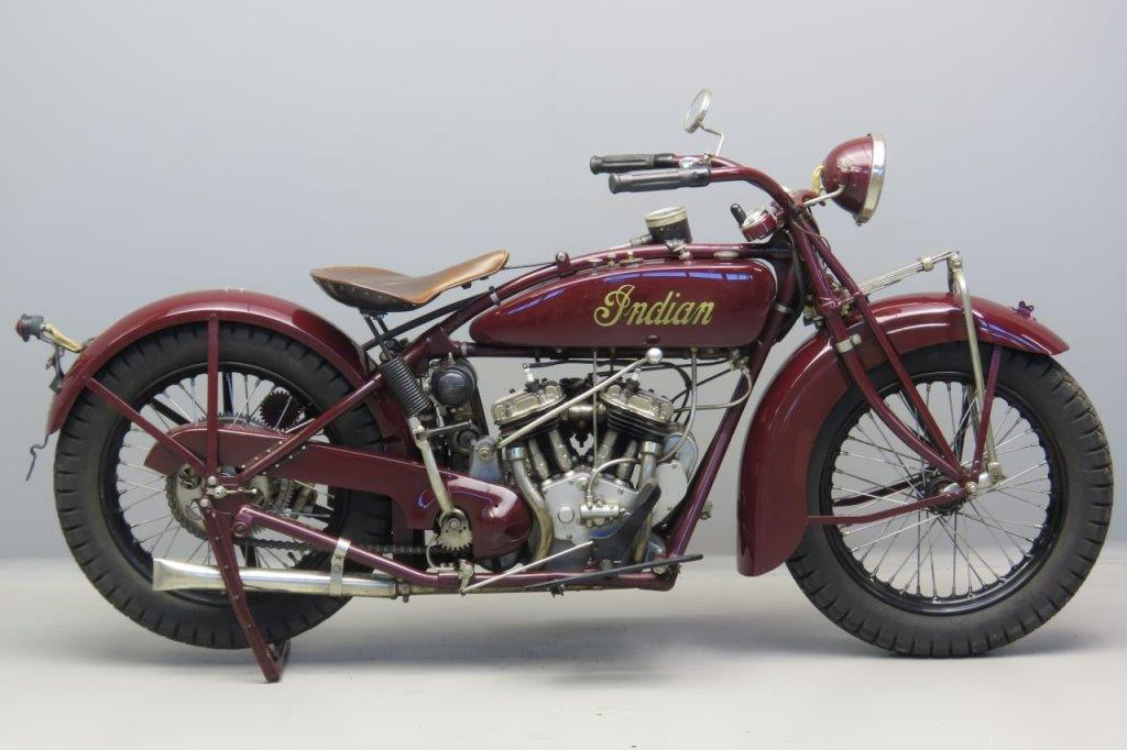 Indian 1928 Scout 600cc 2 cyl sv  3006