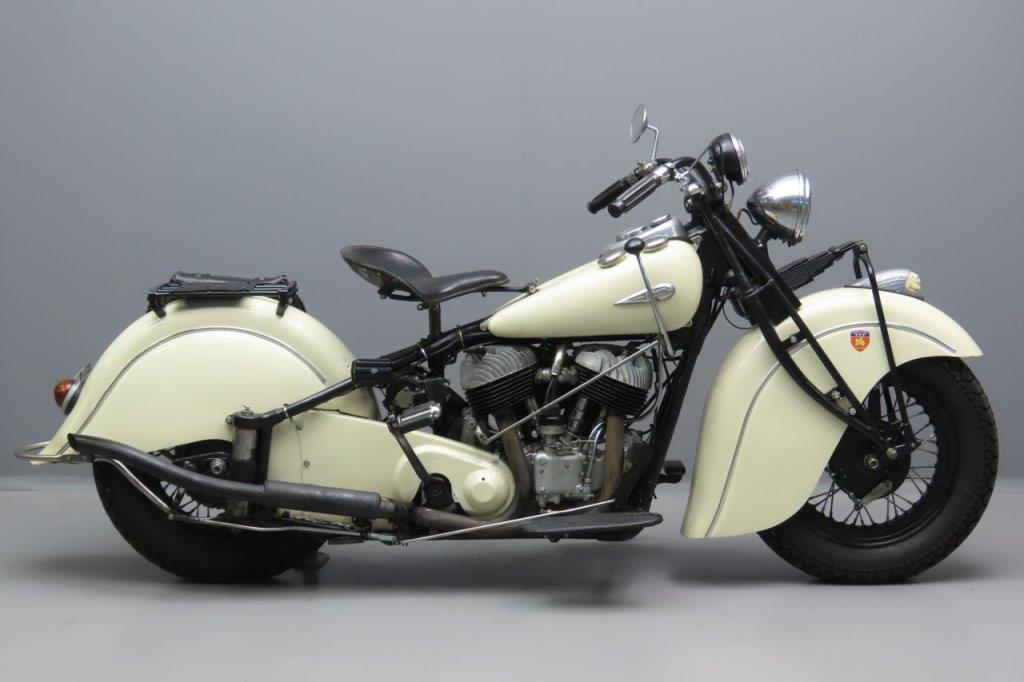 Indian 1940 Chief 1207cc 2 cyl sv  3006