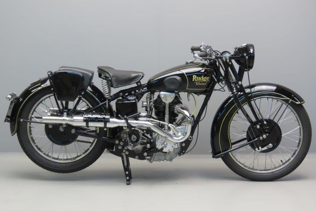 Rudge 1933 Ulster TT Replica 499cc 1 cyl ohv  3006