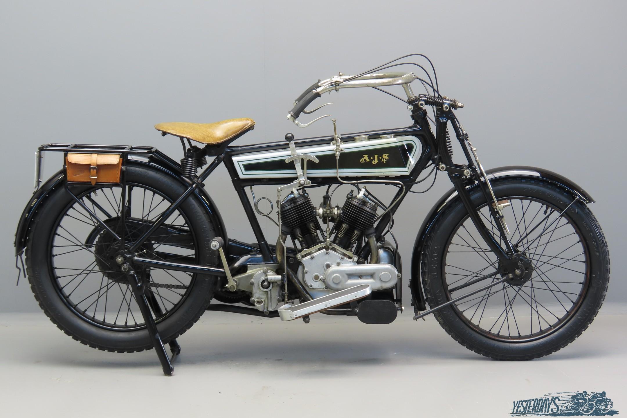 Ajs 1916 Model A 550cc 2 cyl sv  3007