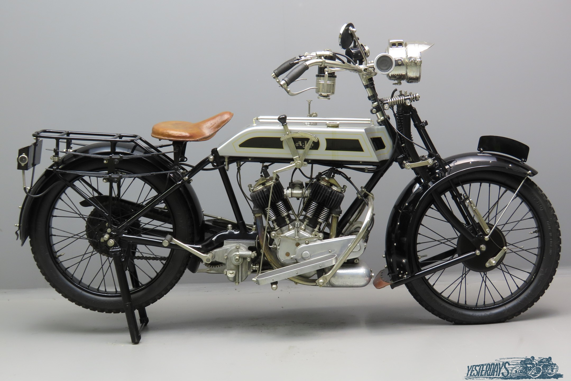 AJS 1919 model D 748cc 2 cyl sv  3007