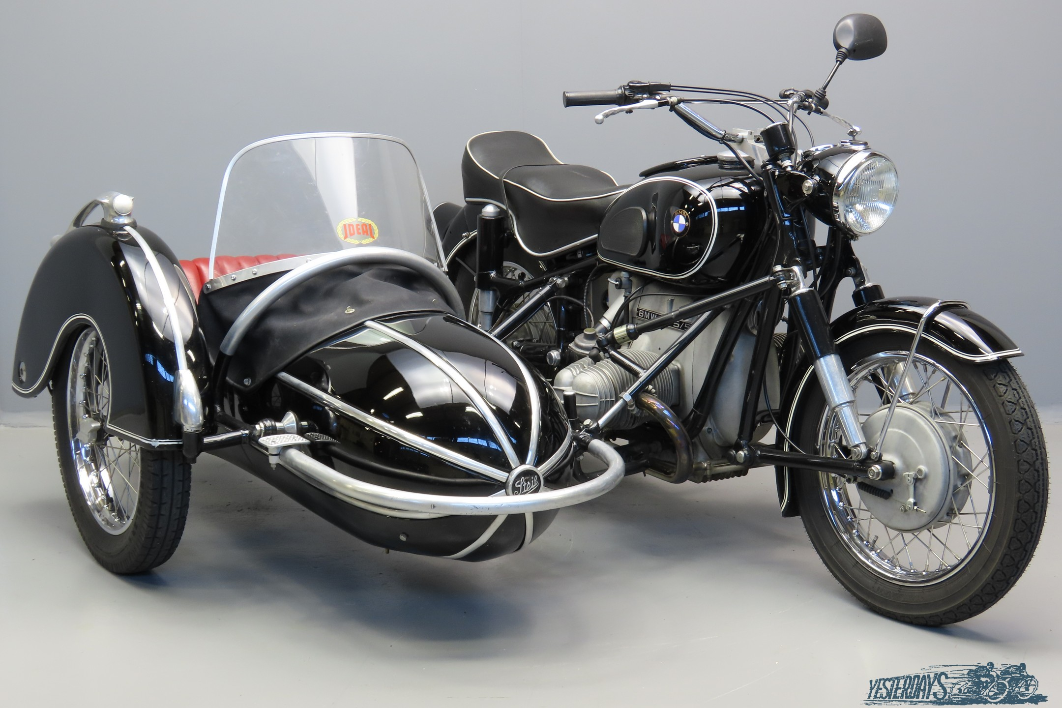 bmw 1960 R69-R75/5 745cc 2 cyl ohv 3007
