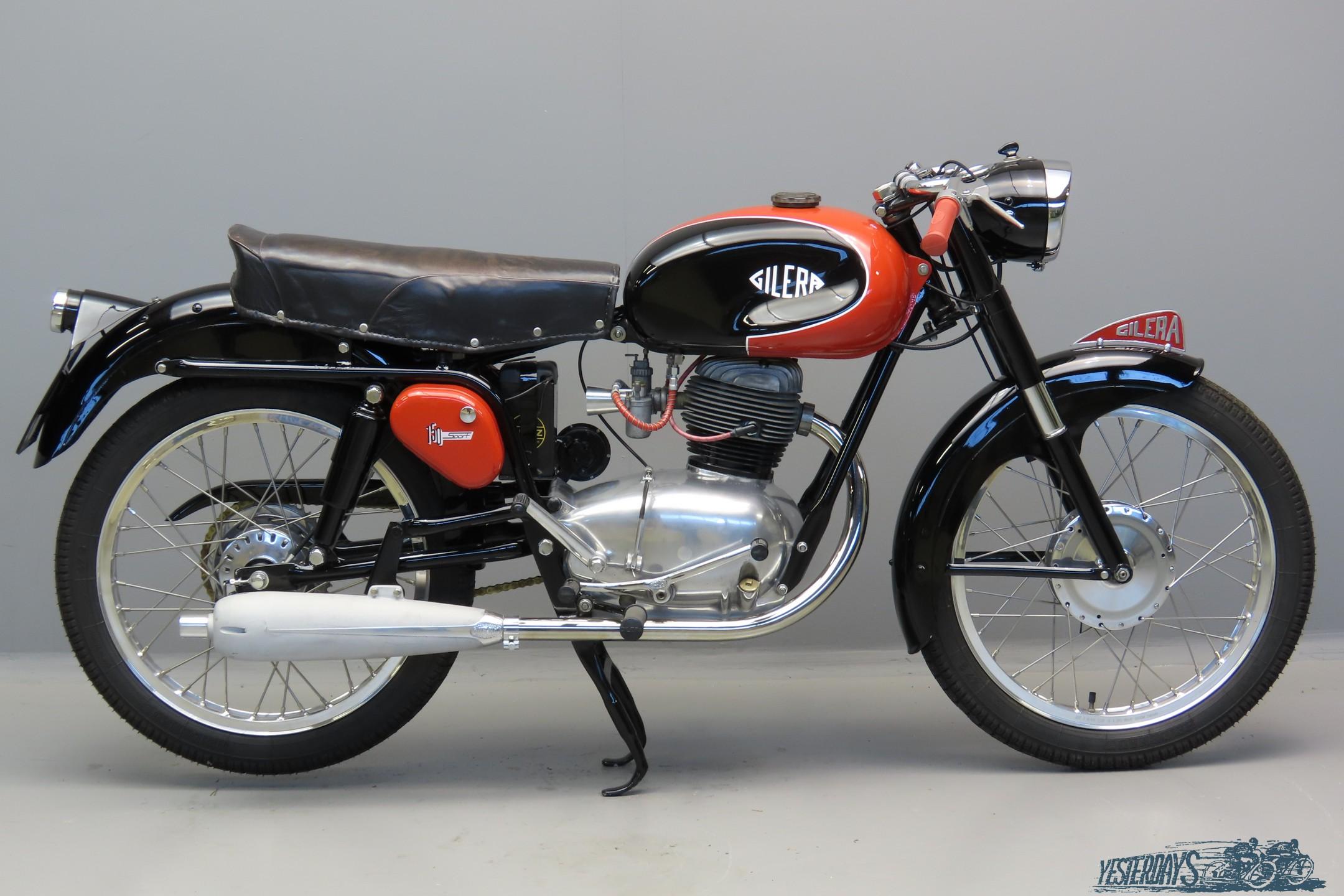 Gilera 1955 Supersport 150cc 1 cyl ohv  3007