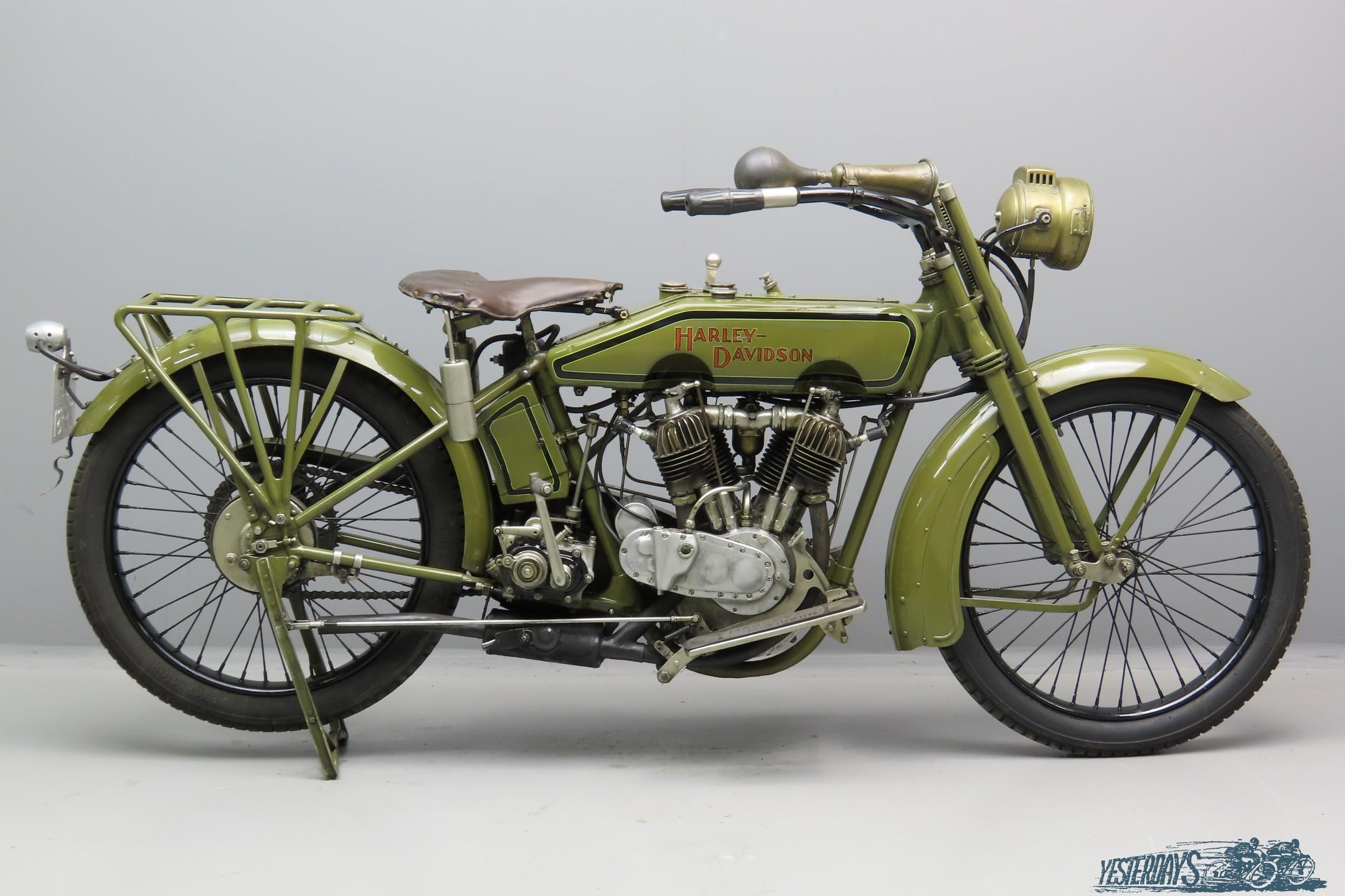 Harley Davidson 1920 989cc 2 cyl ioe 3007