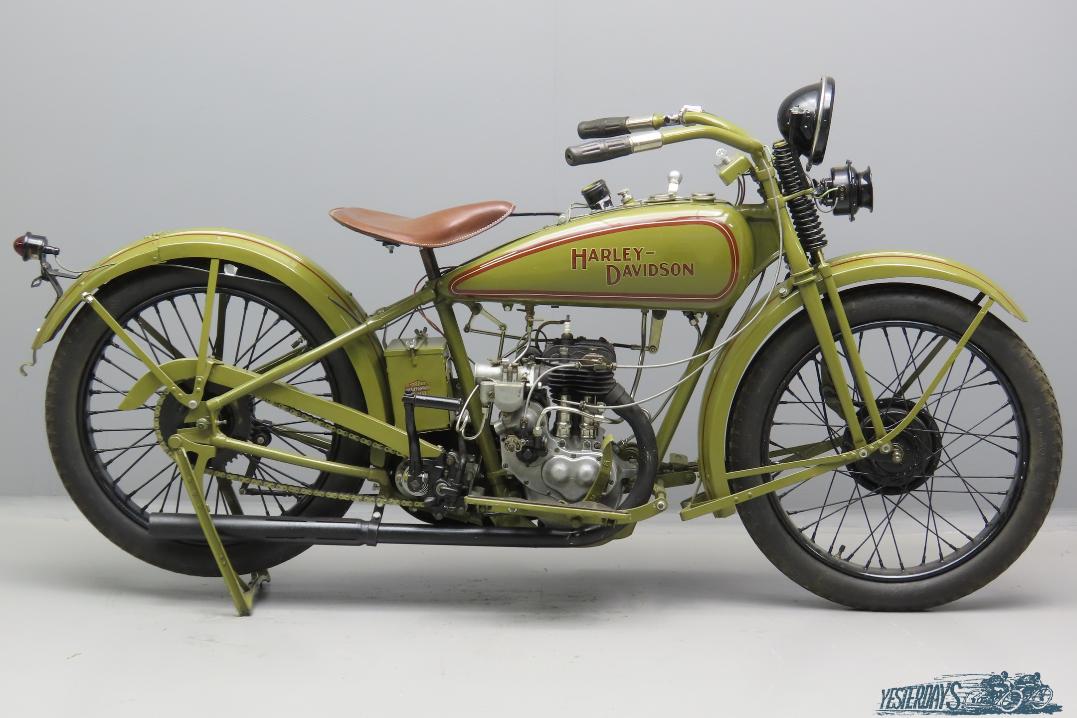 Harley Davidson 1928 Model B 350cc 1 cyl sv  3007