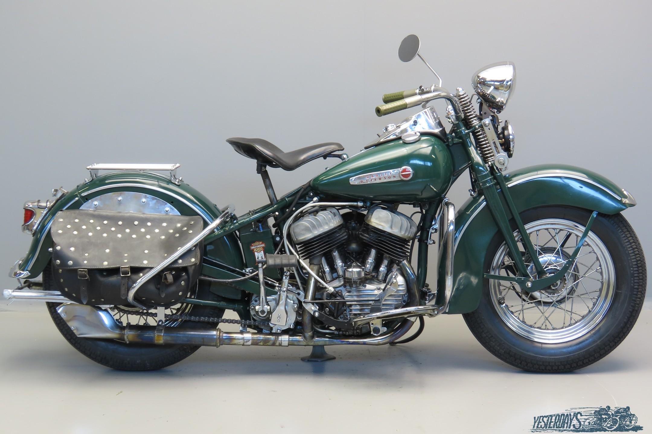 Harley Davidson 1942 WLC 750cc 2 cyl sv 3007
