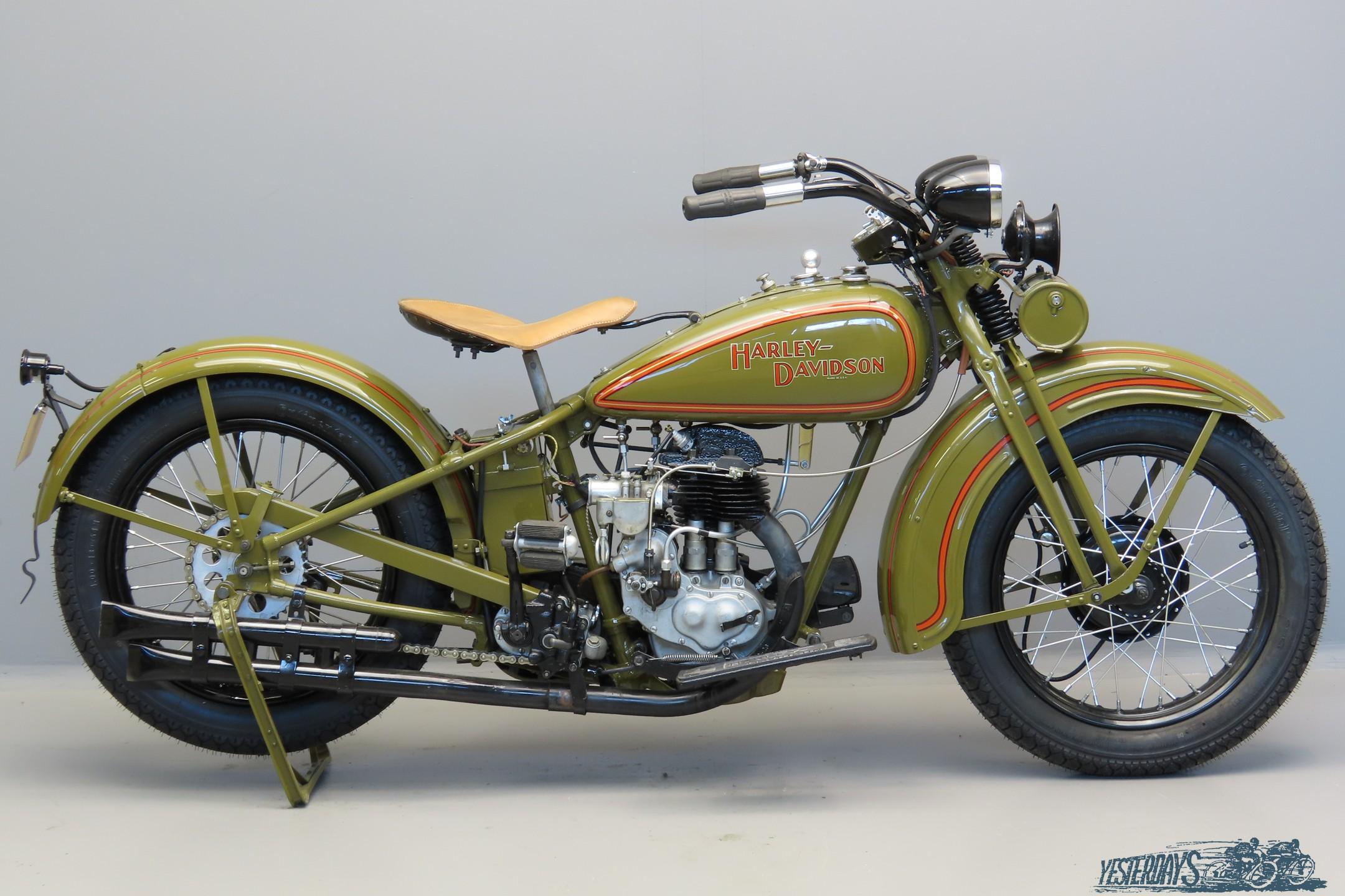 Harley Davidson 1930 30C  493cc 1 cyl sv  3007