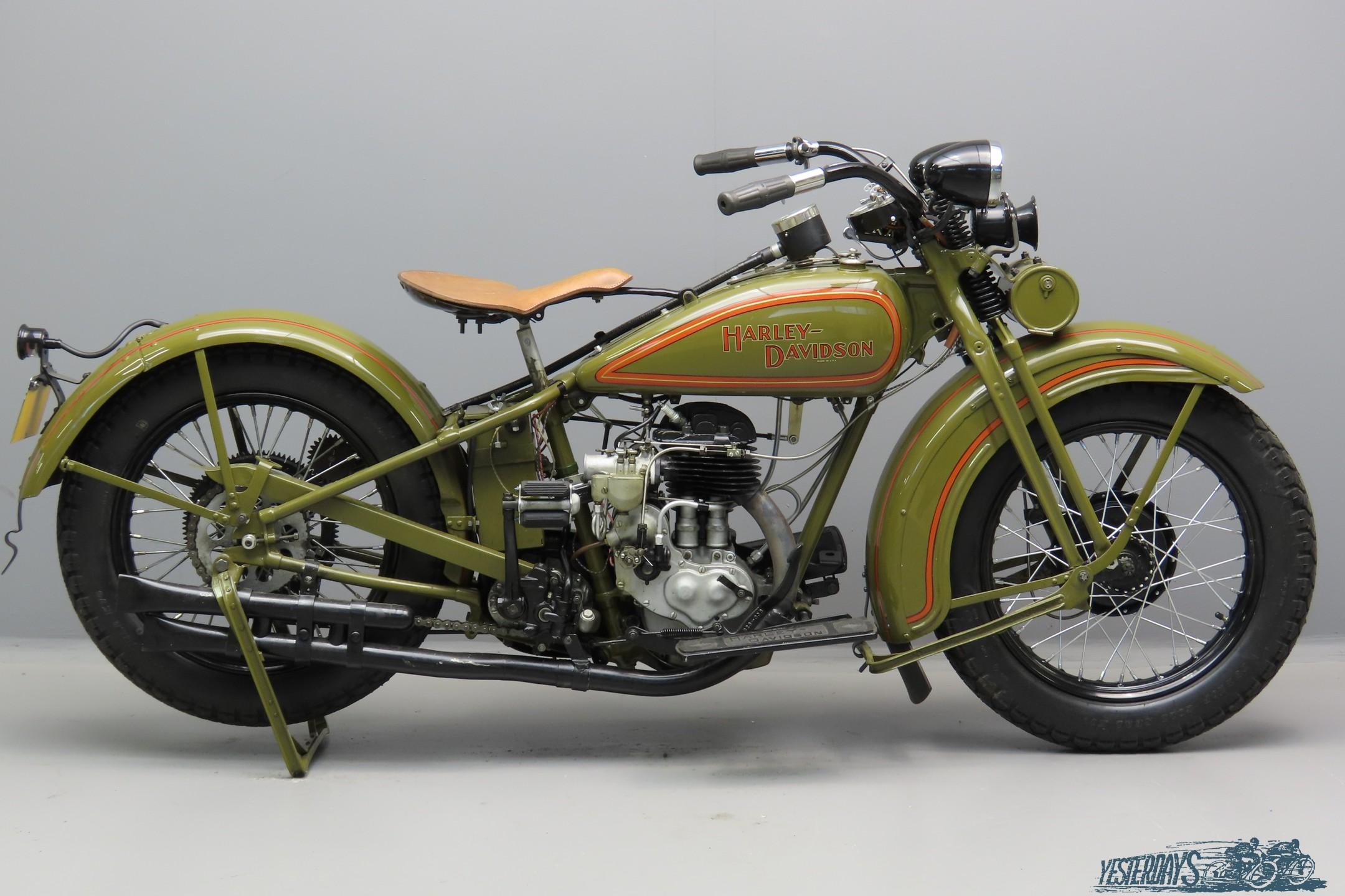 Harley Davidson 1930 Model 30C 493cc 1 cyl sv  3007