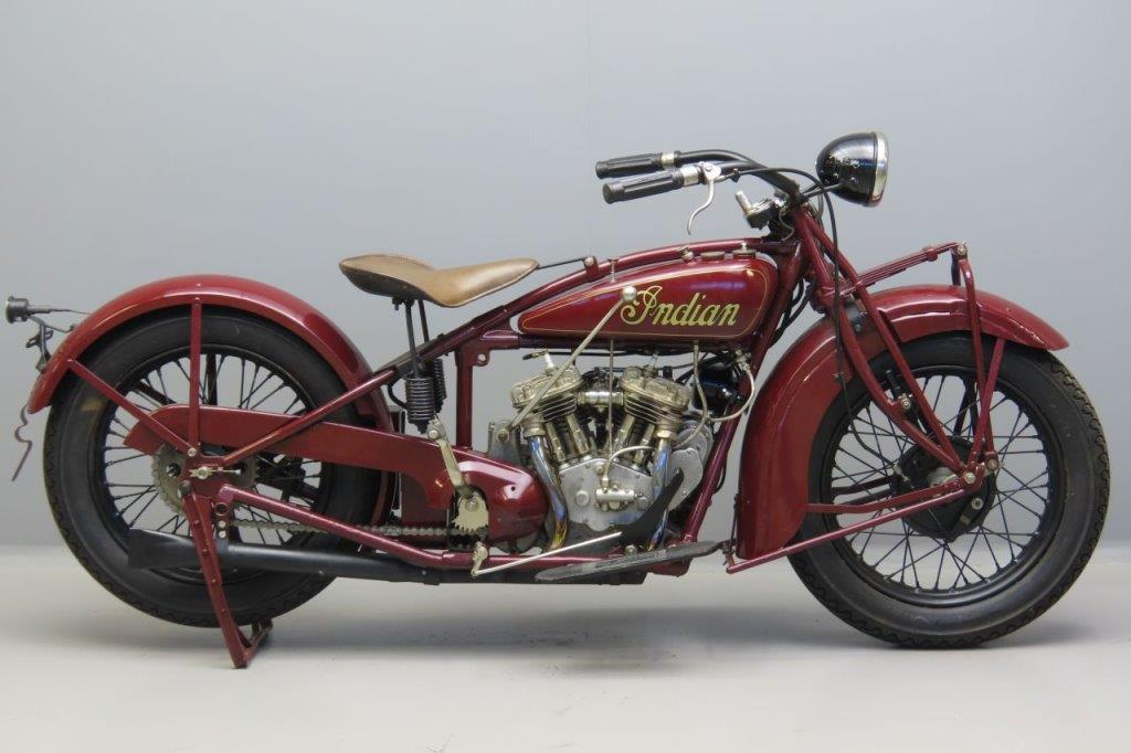 Indian 1928 Scout 101 600cc 2 cyl sv  3007