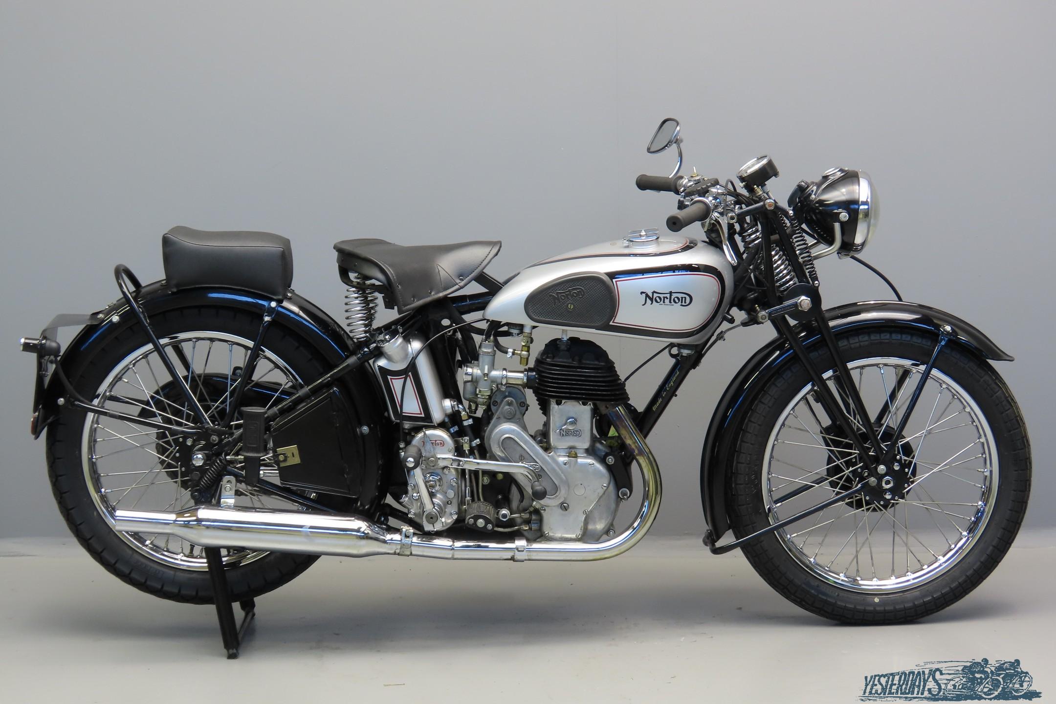 Norton 1945 Model 16H 490cc 1cyl sv  3007