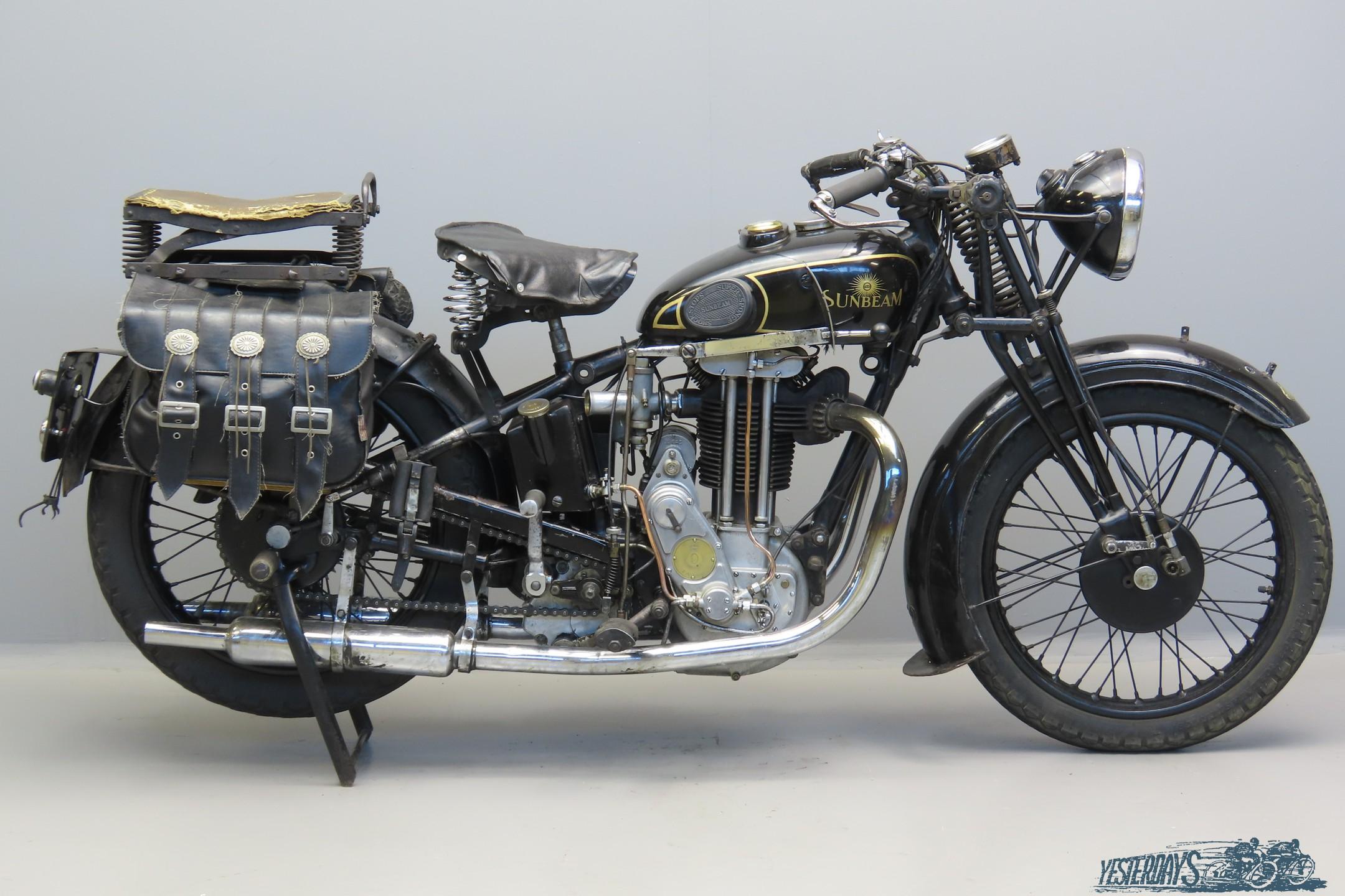 Sunbeam-1935 Model 9A 596cc 1 cyl ohv  3007