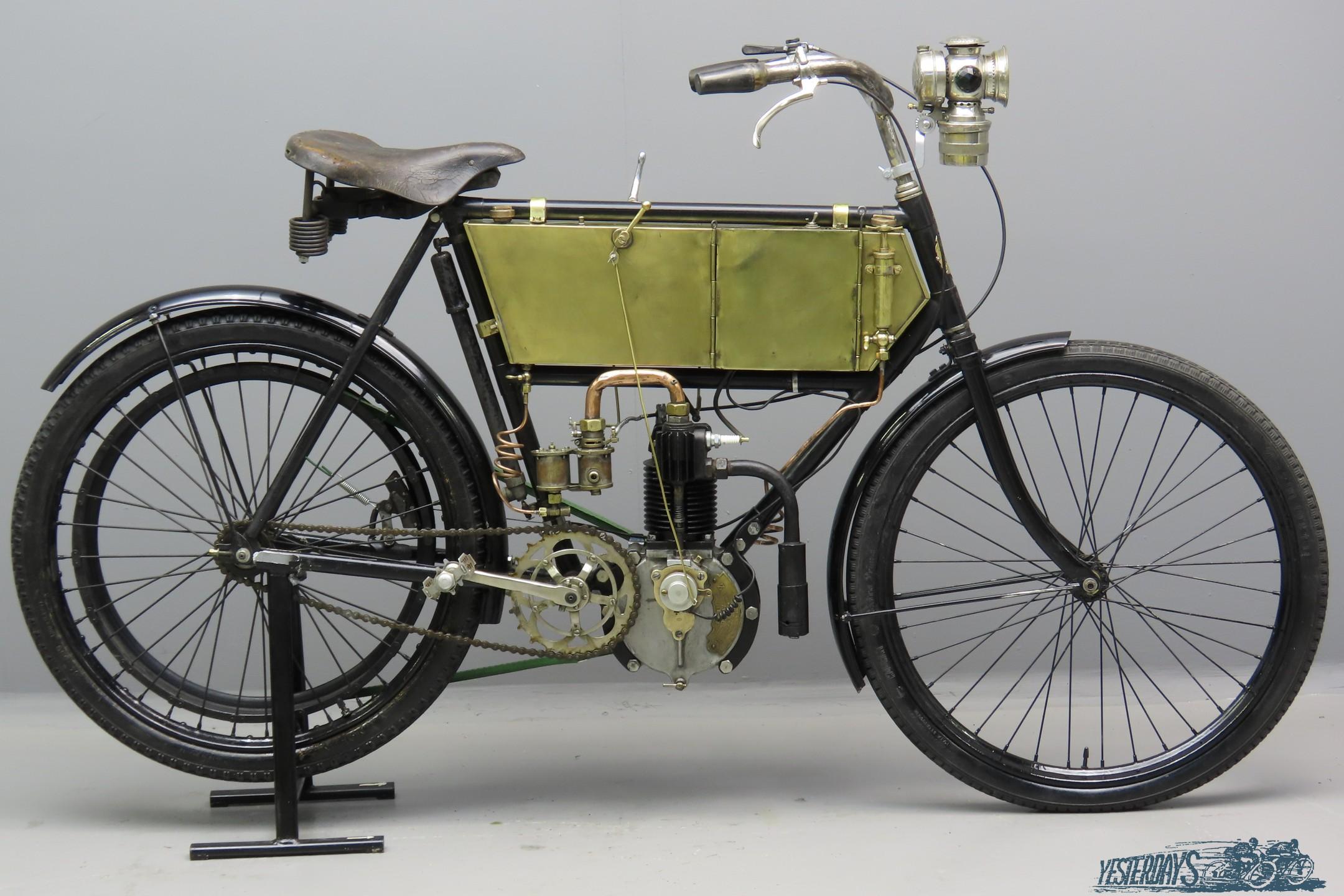 Terrot 1903 2 hp 239cc 1 cyl aiv  3007