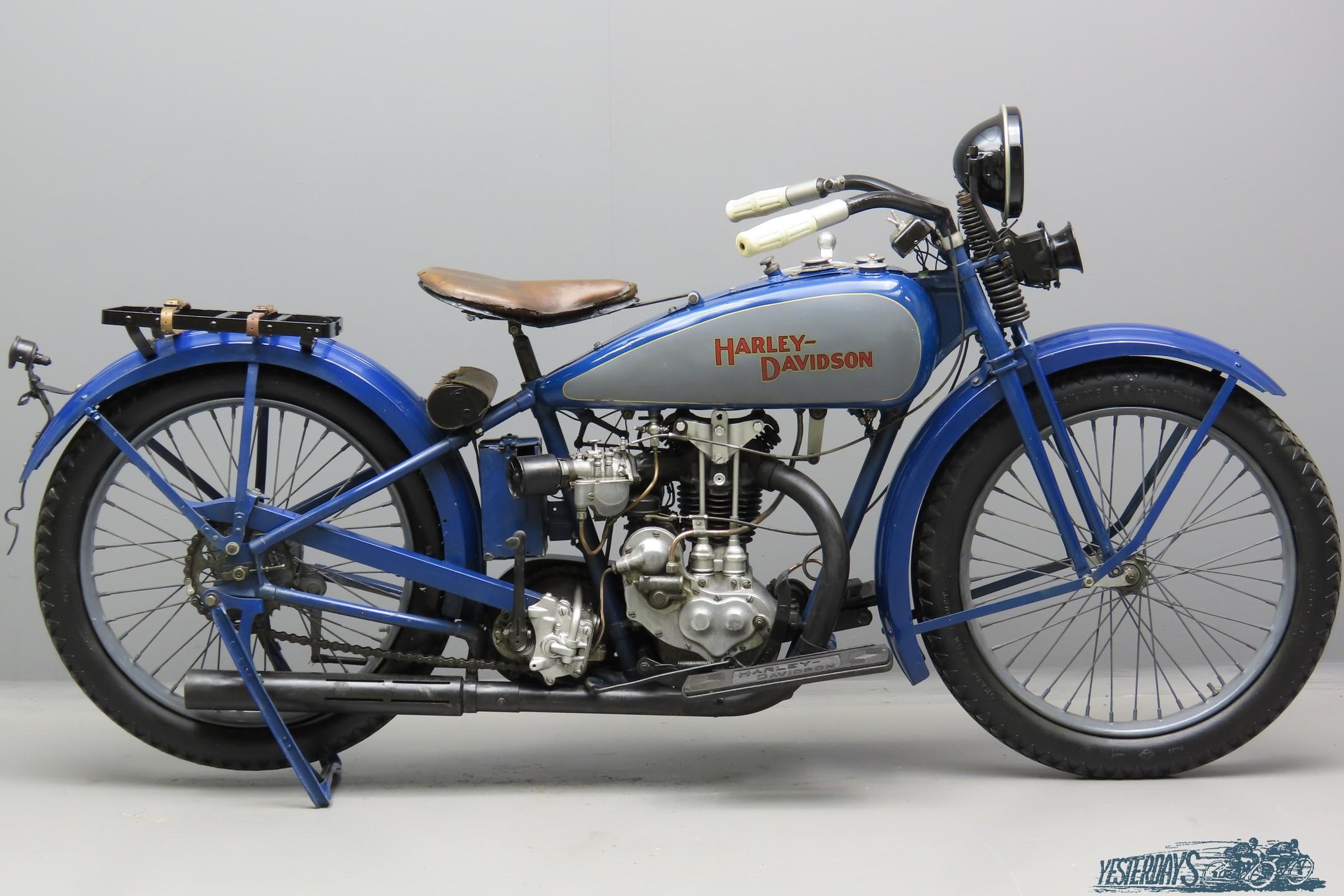 Harley Davidson 1929 Model BA 346cc 1 cyl ohv  3007