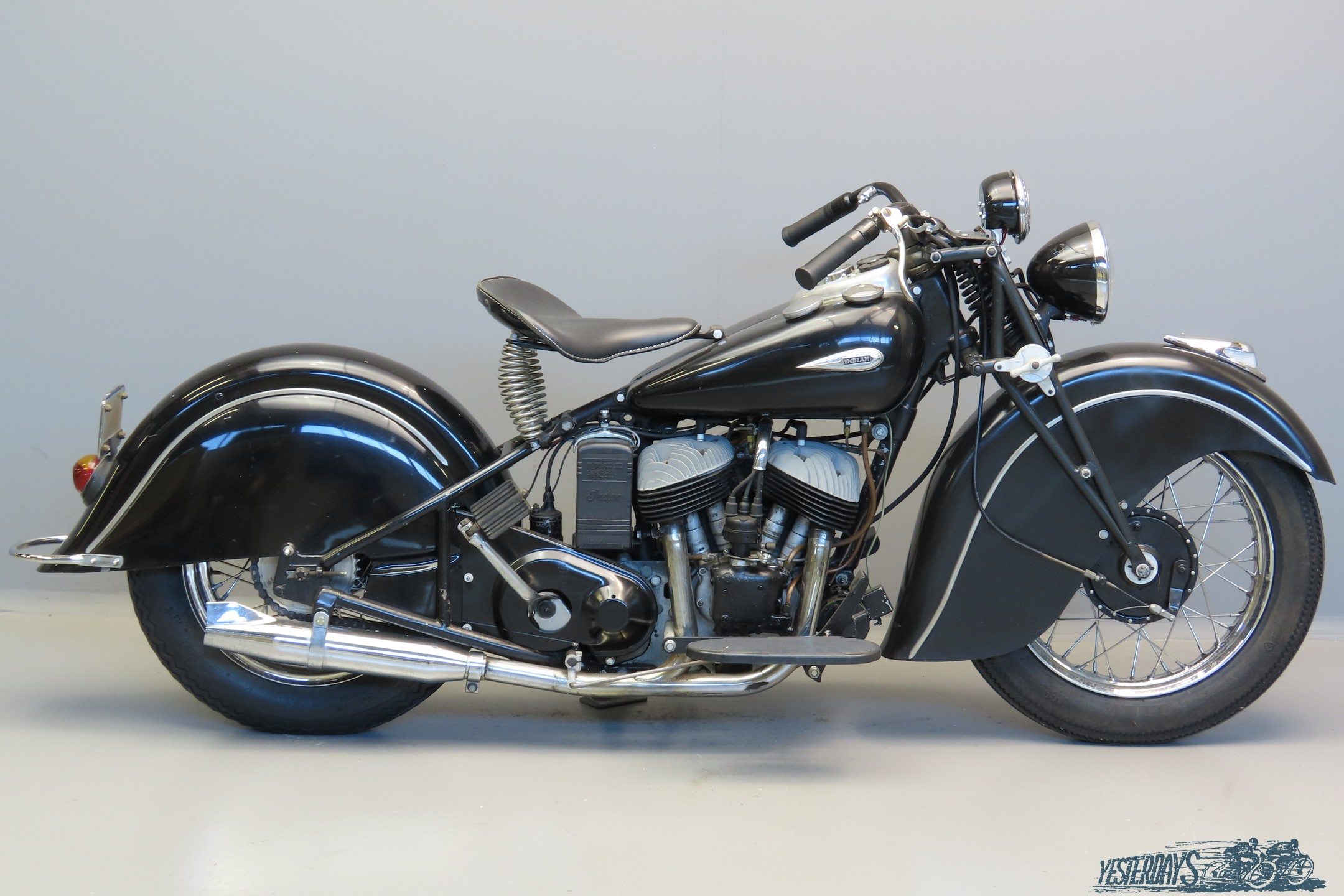 Indian 1940 Sport Scout 750cc 2 cyl sv  3008