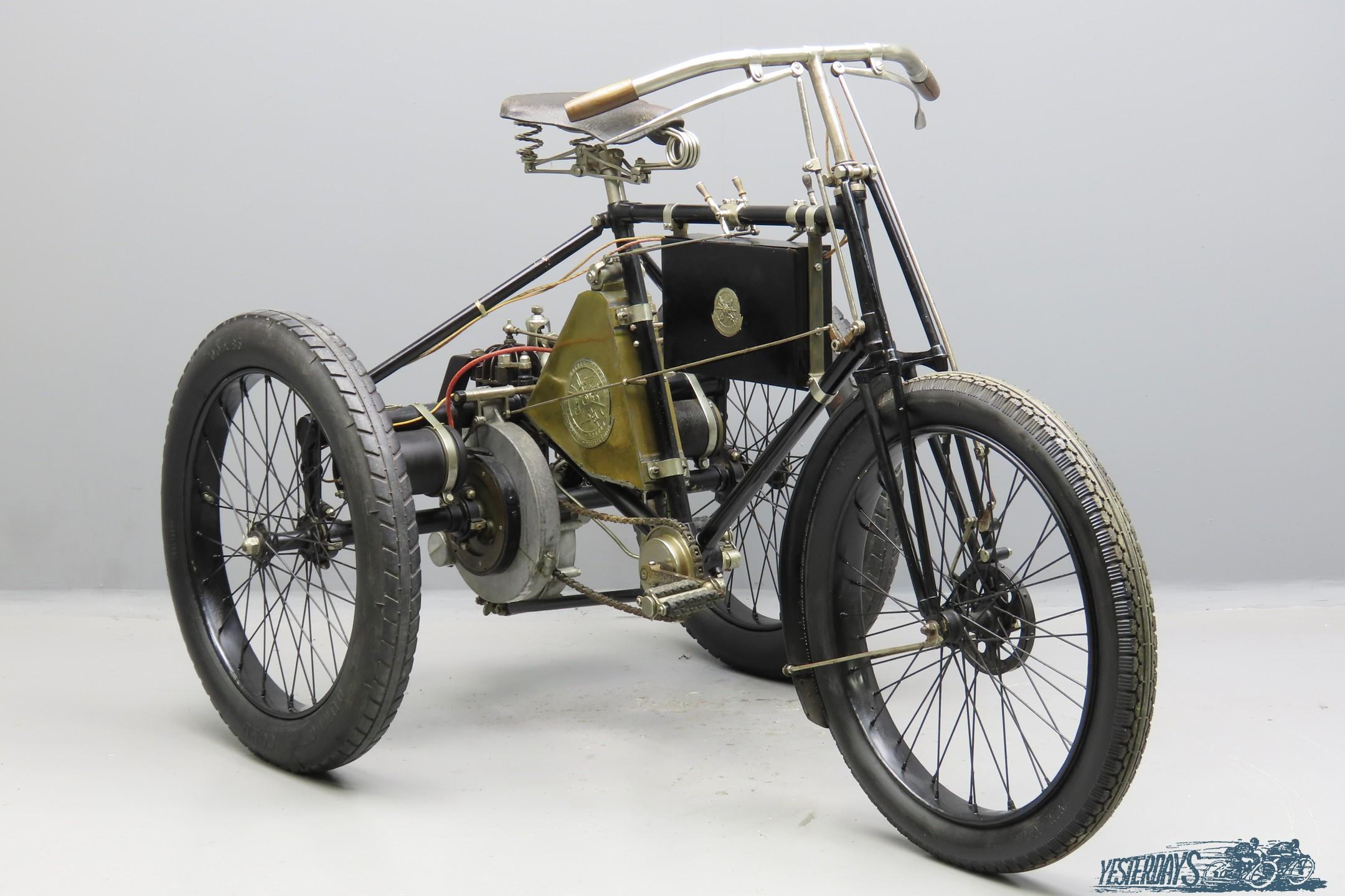 De Dion Bouton 1899 2¼hp 269cc 1 cyl aiv  3009