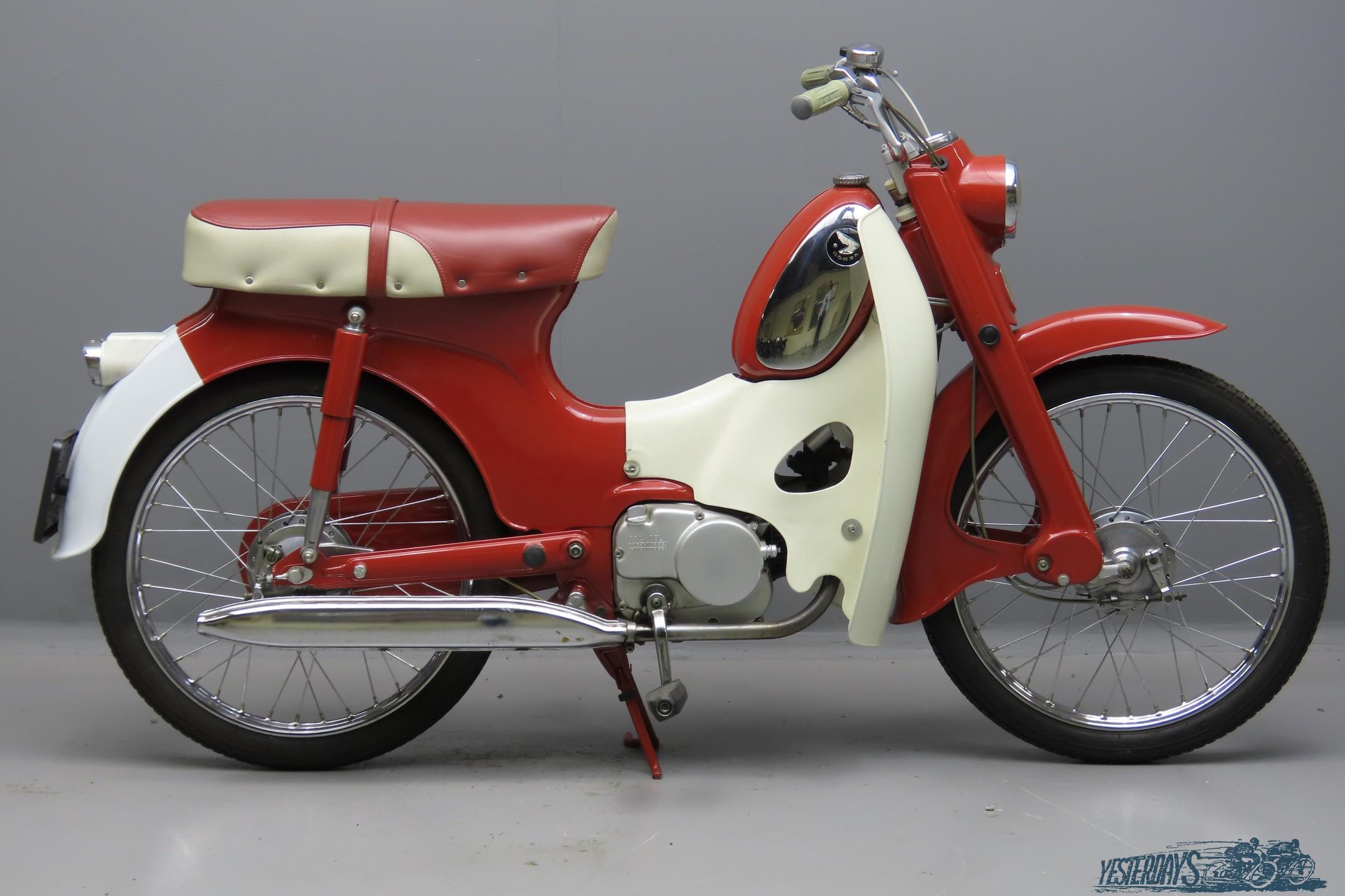 Honda 1967 C310A  50cc 1 cyl ohv  3009