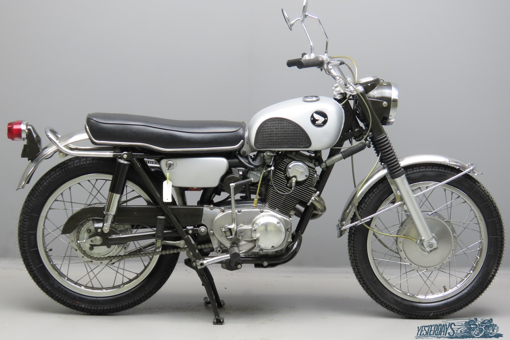 Honda 1965 CL 77  305cc 2 cyl ohc  3009