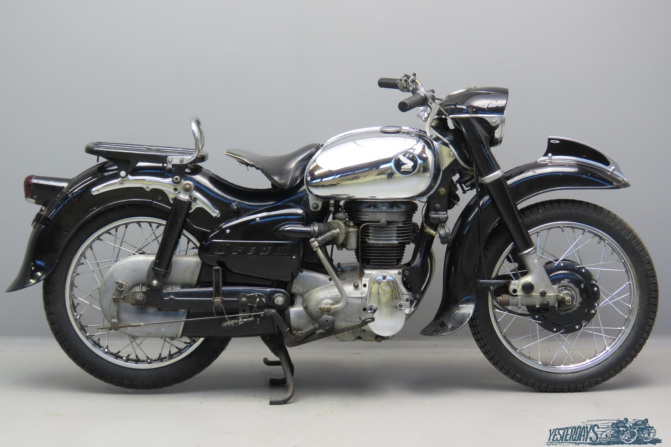 Honda 1957 ME250 Dream 246cc 1 cyl ohc   3009